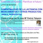 cartel charla web
